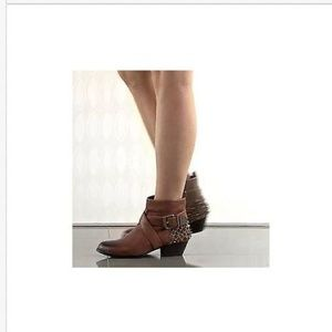 Vince Camuto Marcin Ankle Boots w/ Studs 5 1/2 New